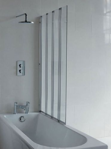 Cleargreen Britton Four-Panel Bath Screen